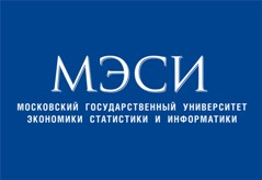 Логотип МЭСИ (Московский Государственный Университет Экономики, Статистики и информатики).