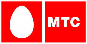 Логотип компании МТС.